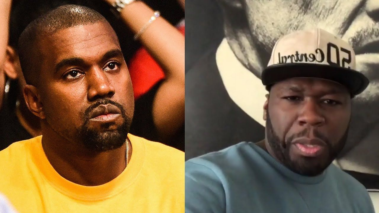 50 Cent Reacts To Kanye West S Recent Rants He S High As A Muthaf Cka Kanye West Kanye 50 Cent