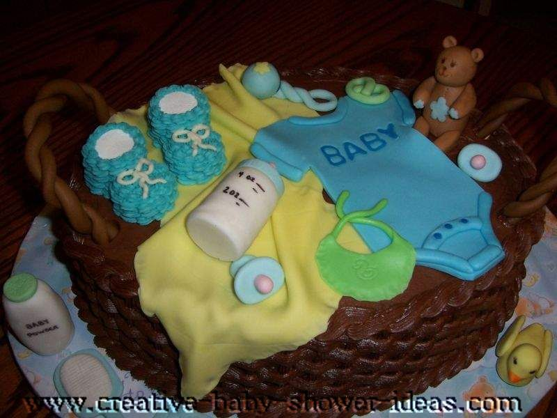 baby shower cake with baby clothes cakes pinterest shower cakes