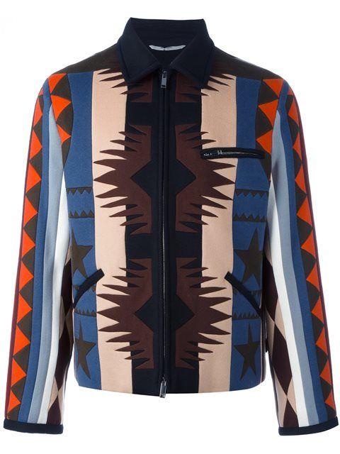 VALENTINO Navajo-Style Pattern Bomber Jacket.  valentino  cloth  jacket 1ed711247
