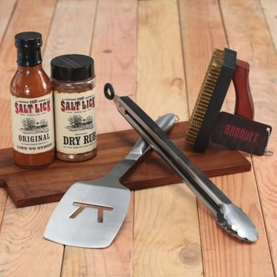 The #Broquet Essential Grill Set will have you promoted to grill master! See more grilling and #BBQ gifts on: http://blog.gifts.com/entertaining-2/the-best-grilling-gifts