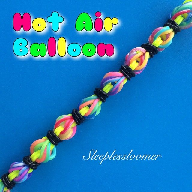 Hot Air Balloon Bracelet