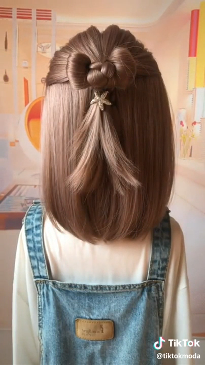 Hairstyle For Girls #girlhairstyles