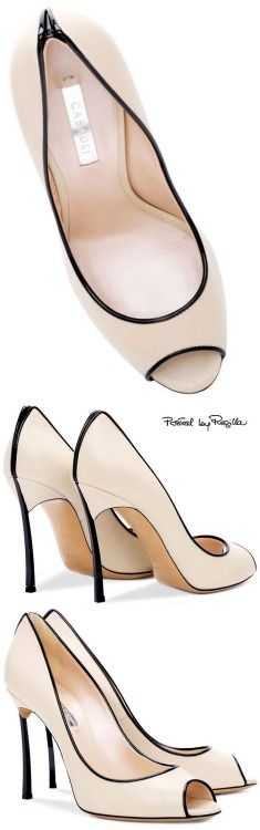 Regilla ⚜ Casadei  The heel isn't my fave but the color is beautiful