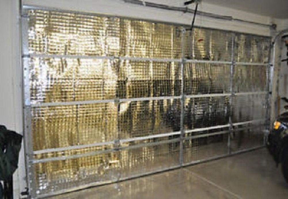 Details about NASA TECH Reflective Foam Core Garage Door