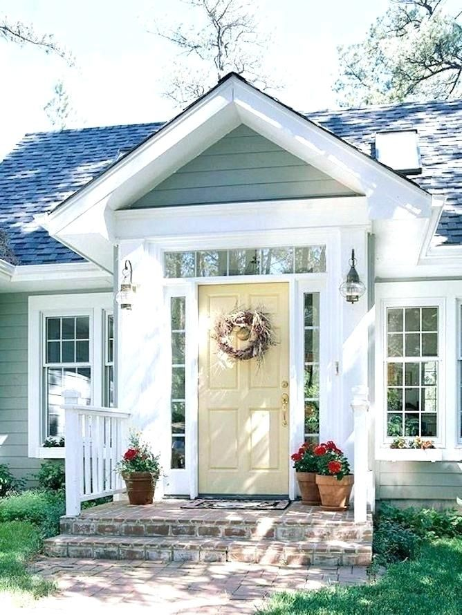 Front Porch Ideas To Add More Aesthetic Appeal To Your Home: Pin By Heather Roan Robbins On Barnes Door (2020)