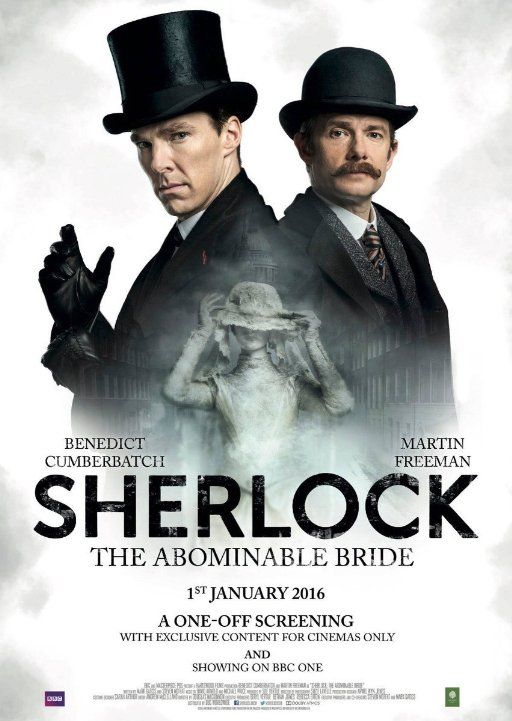 Sherlock Christmas Special 2019 Latest Posters in 2019 | TV | Sherlock the abominable bride