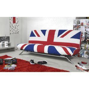 djeuns djeuns clic clac 120 x 190 cm matelas dunlopillo 13 cm et 28 kg m3 imprim union. Black Bedroom Furniture Sets. Home Design Ideas