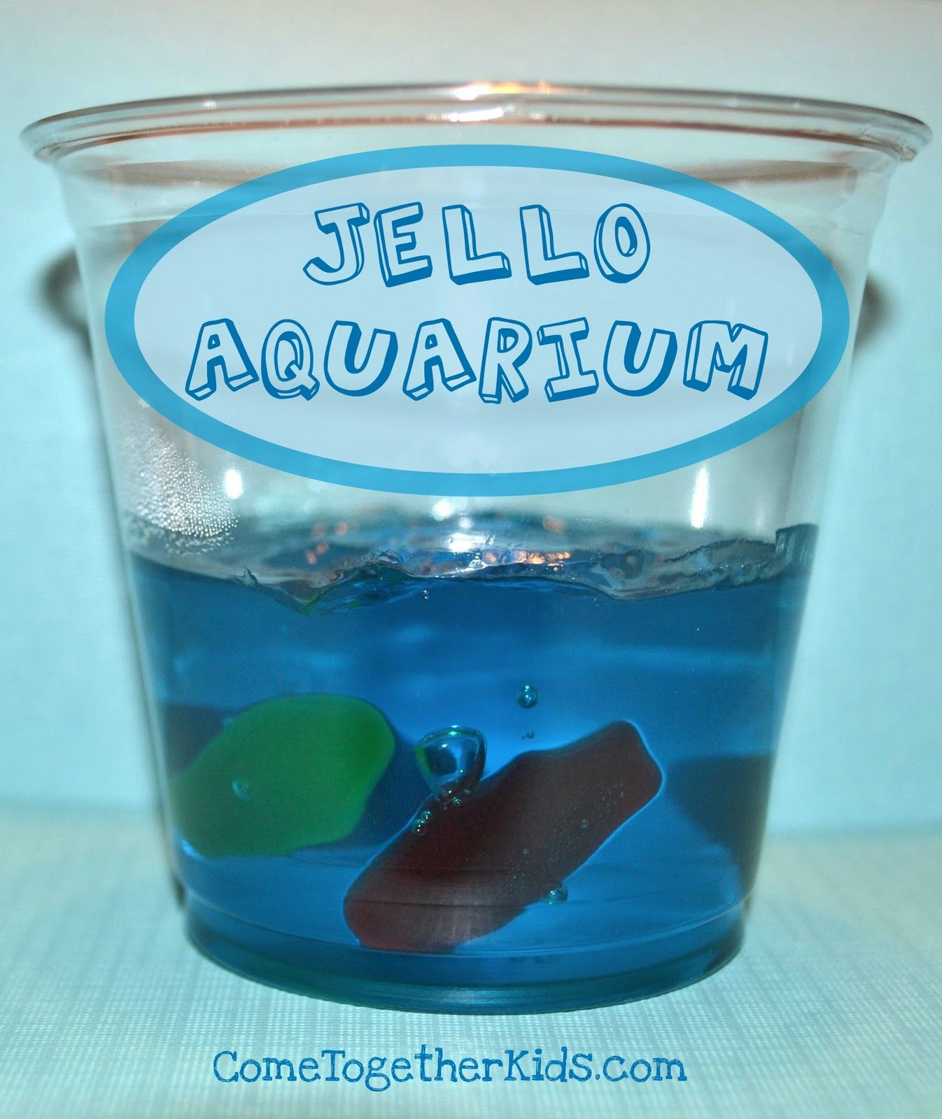 Jello aquariums summer theme preschool classroom ideas for Who makes swedish fish