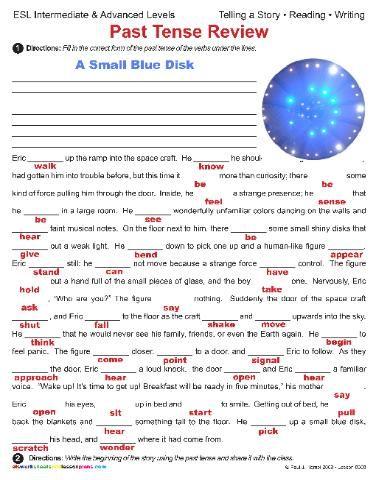 Movie Vocabulary ESL Worksheet ??� Printable English Activity MFB2 ...