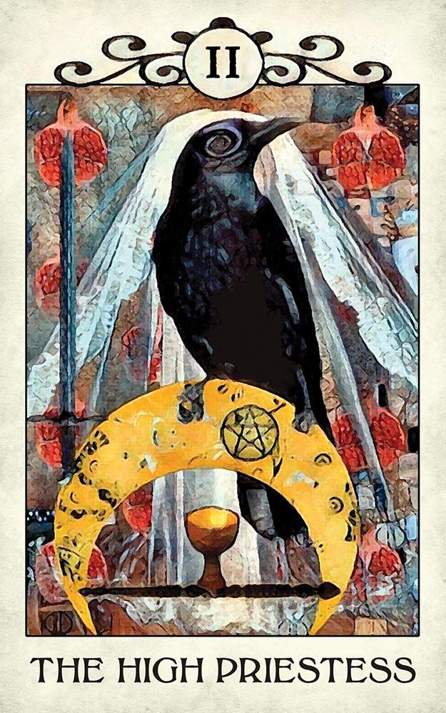 Crow Tarot Cards: Boxed – January 4, 2019 by MJ Cullinane (Author) Paying homage to the mystical energy of crows and ravens, Crow Tarot invites us to fly through the veil and connect with our intuitive powers. This artfully created 78-card deck is infused with the familiar symbolism of the traditional Rider-Waite® Tarot, making it ideal for both beginners and professional readers. The 88-page guidebook presents upright and reversed meanings and includes a custom Crow Tarot Spread. About the Auth
