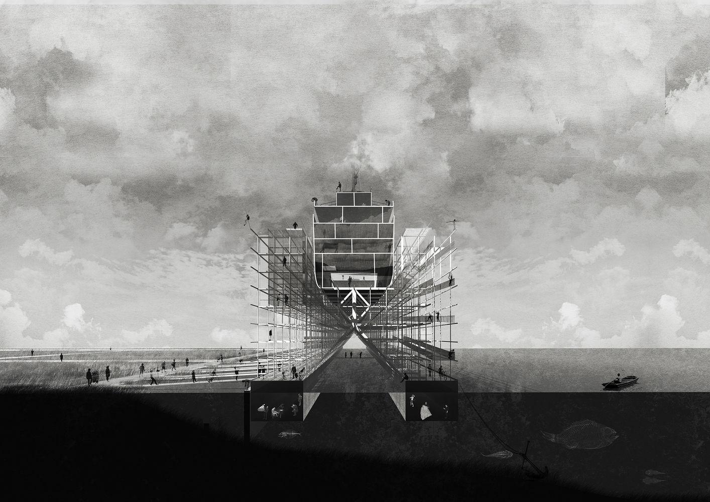 Galer a de museo de la construcci n naval gran ganador for Arquitectura naval e ingenieria maritima