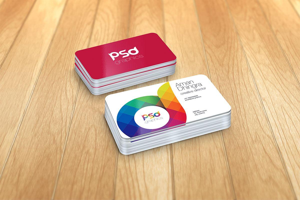 Business Card Mockup Business Card Mock Up Business Cards Mockup Psd Free Business Card Mockup
