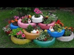 resultado de imagen para como decorar con figuras un jardin