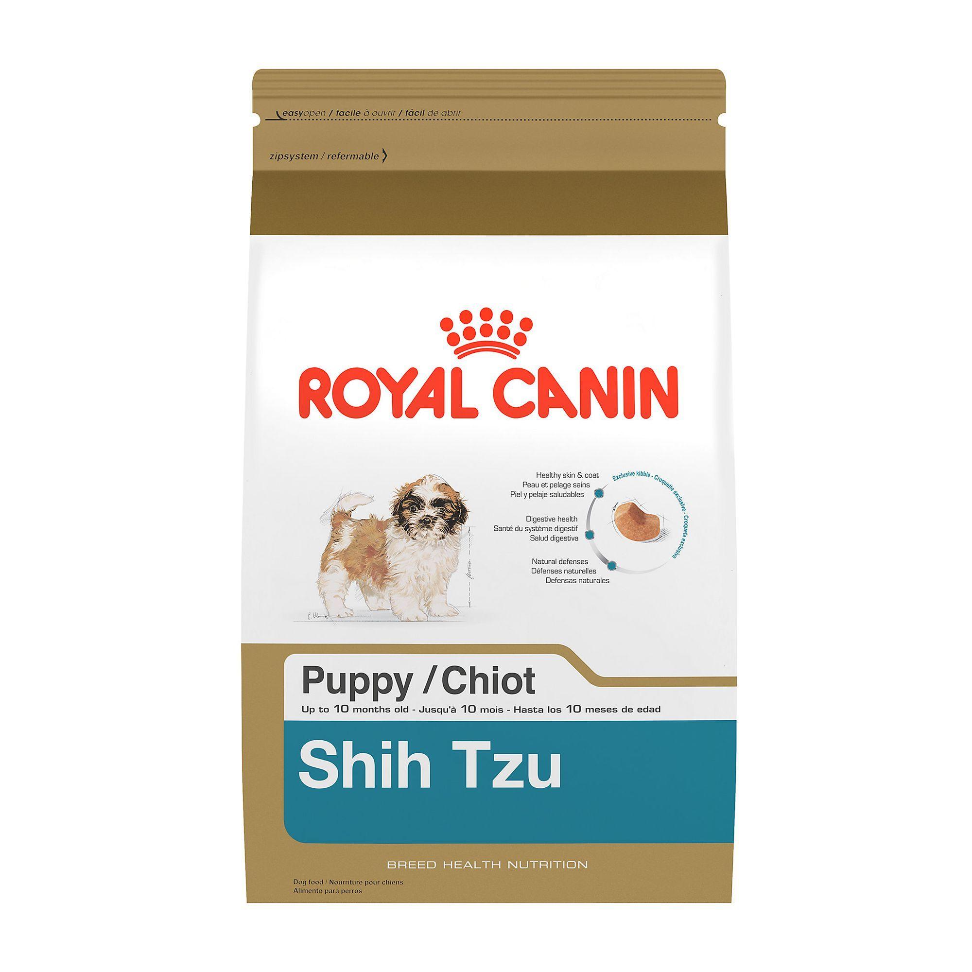 Royal Canin Breed Health Nutrition Shih Tzu Puppy Food Size 2 5