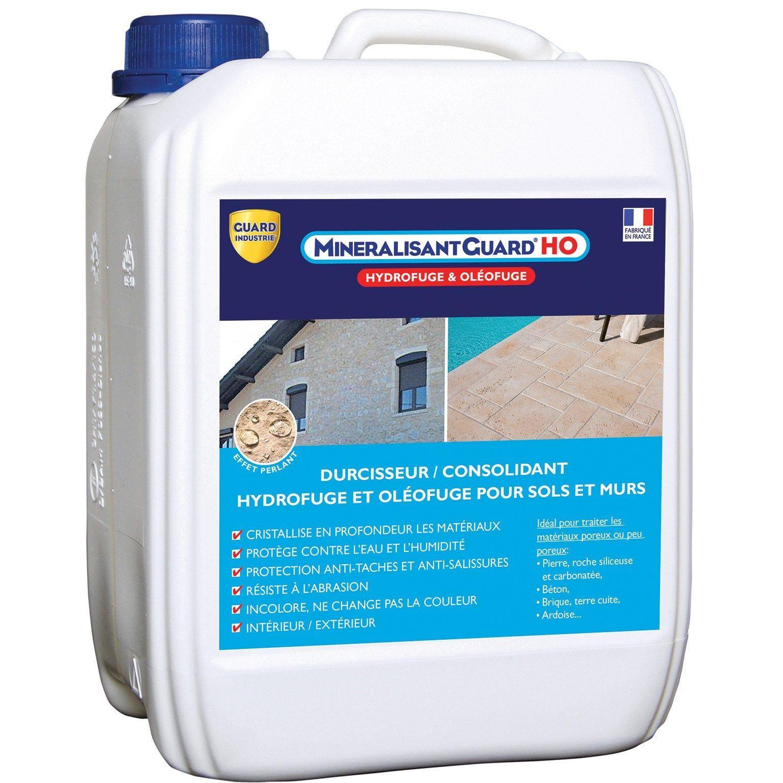 Impermeabilisant Mineralisant Guard Ho Guard Industrie 5 L Materiaux Reseau Cristallin Ardoise