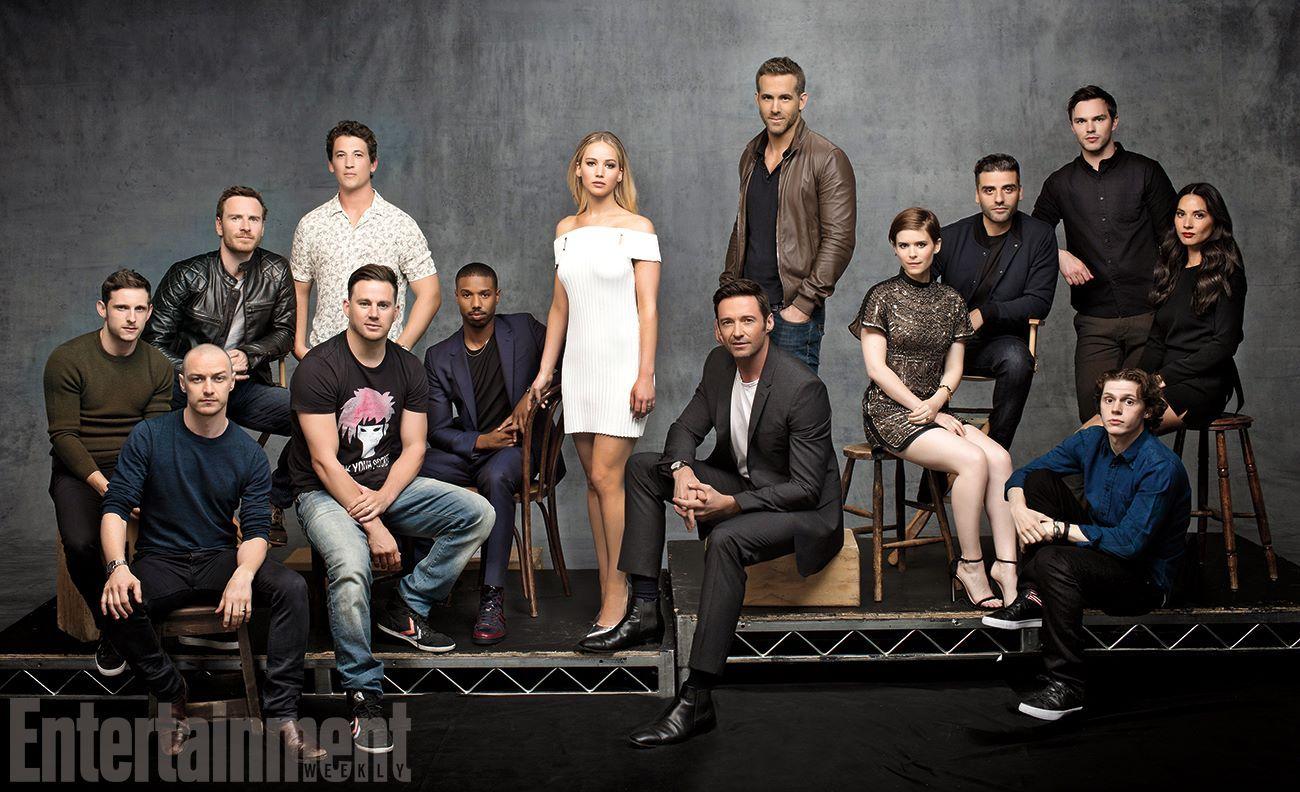 Updates on the next XMen movie. X man cast, Deadpool