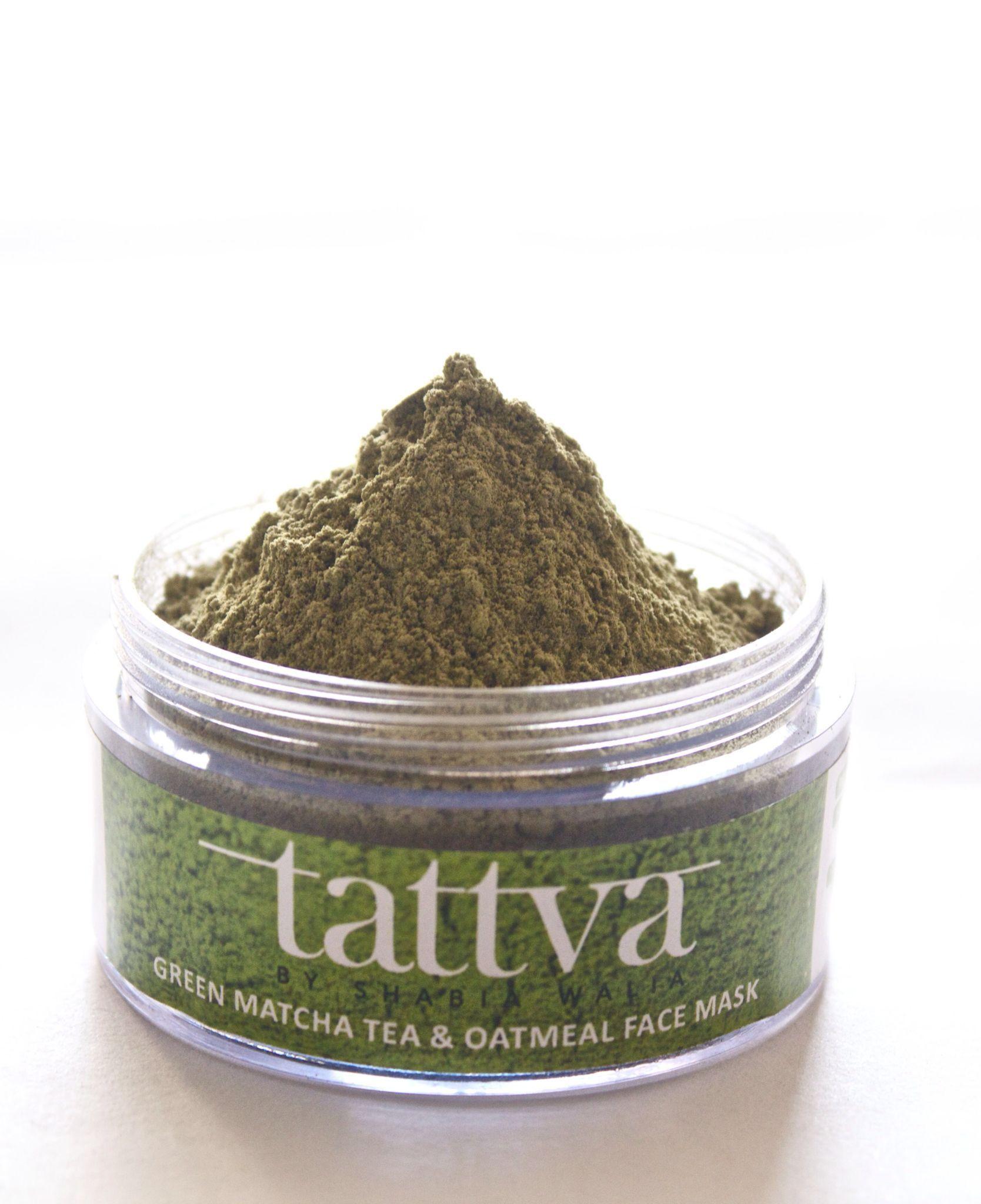 Tattva Green Matcha Tea & Oatmeal Face Mask