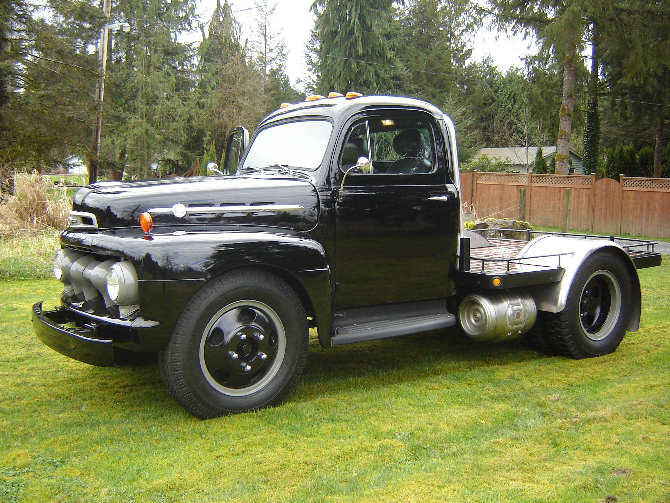 1956 ford customline wagon old car hunt - 1952 Ford F5 Custom Truck Flat Bed