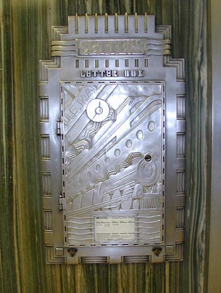 Art Deco Metalwork Letter Box This Is Inspiring Me To Make A Metal