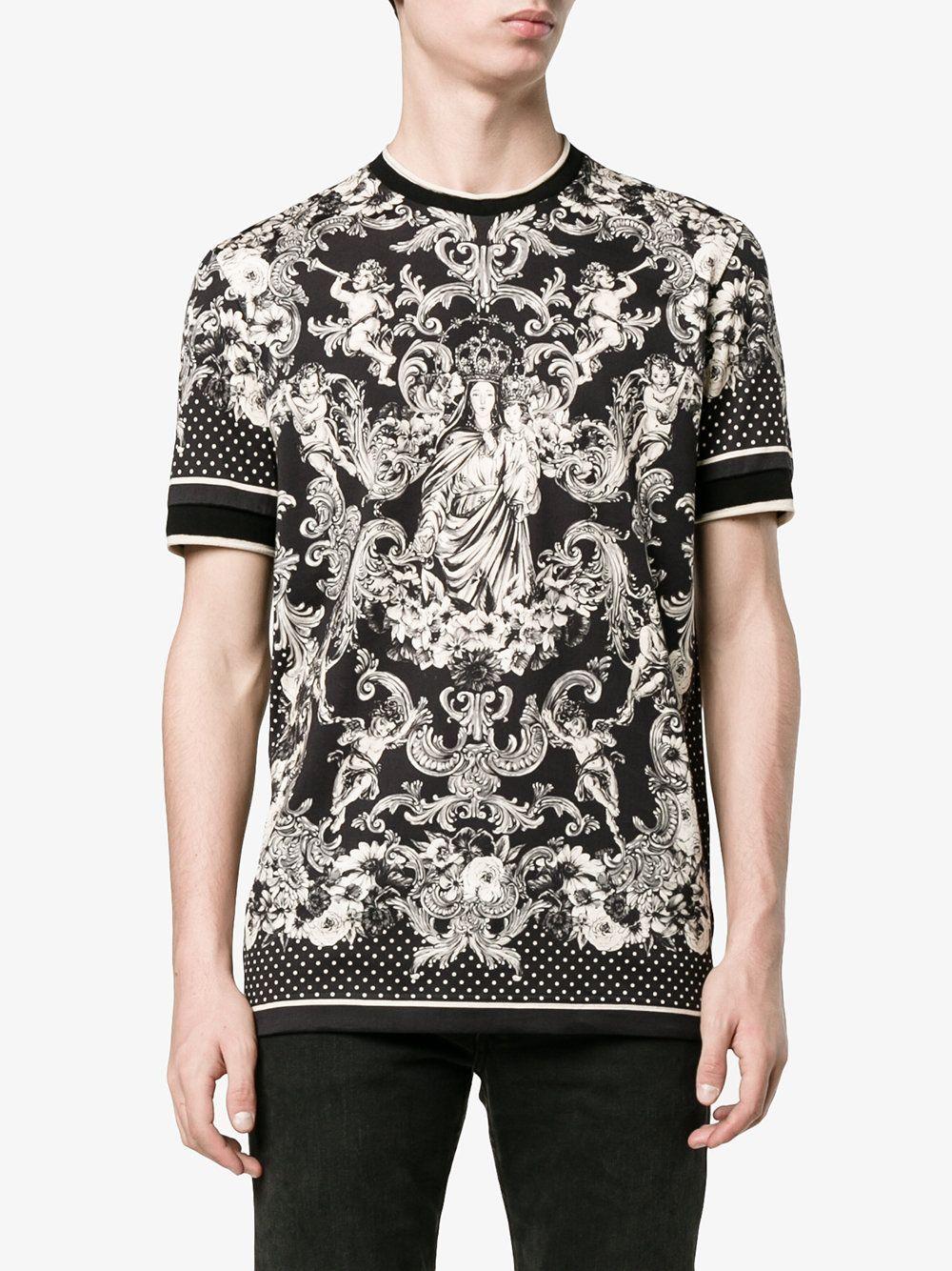 Dolce & Gabbana Madonna Bambino print t-shirt