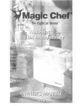 Magic Chef Model Cbm310 Bread Maker Manual Bread Maker Recipes Magic Chef Bread Maker