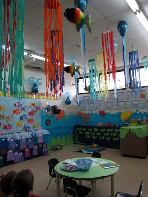 Classroom decorating ideas ocean theme decor