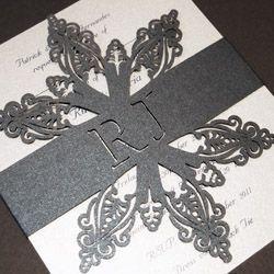 Morning Frost Winter Themed Wedding Invitations