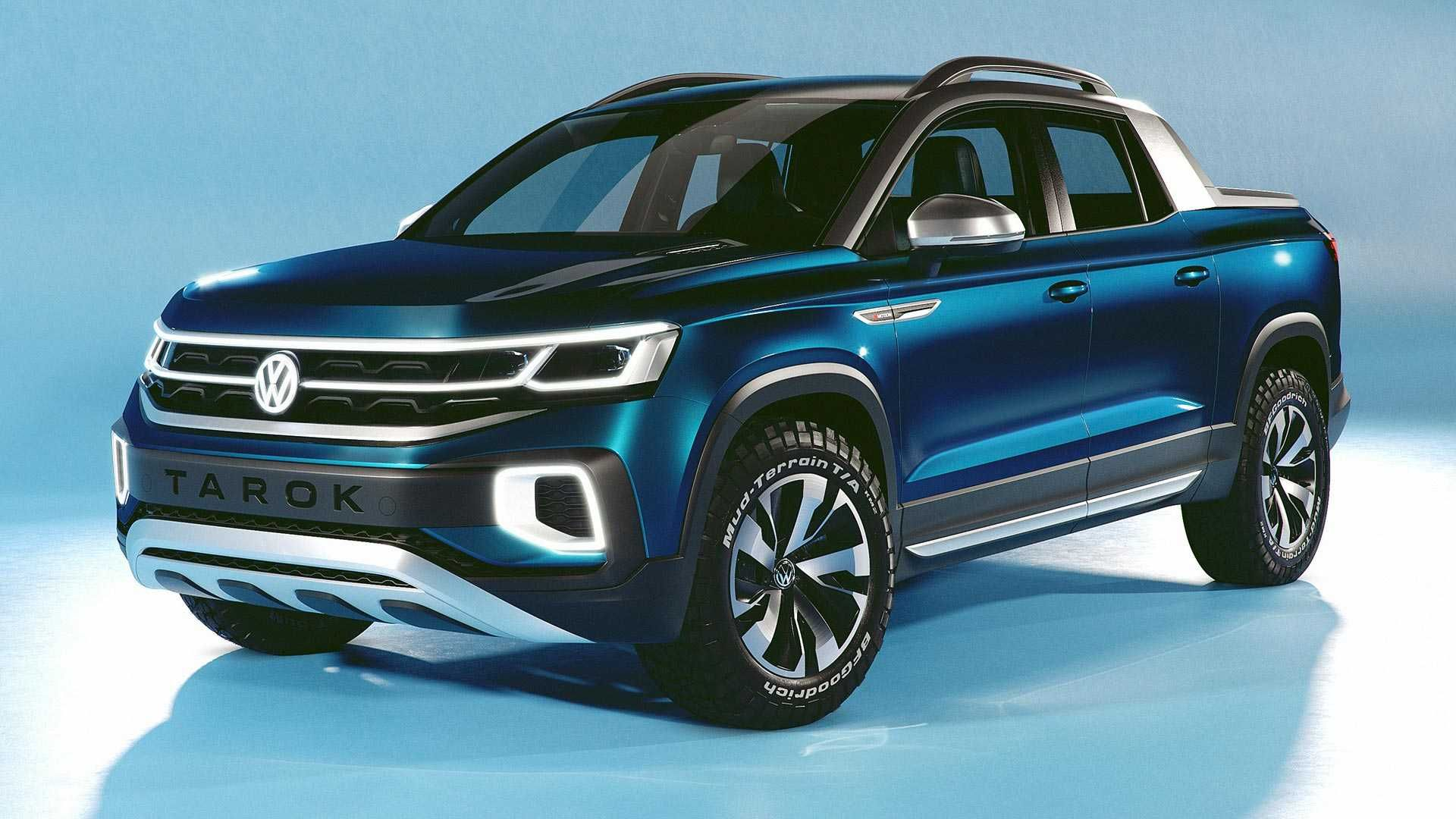 Vw Tarok Concept Revealed As Pickup With Transforming Bed Pickup Trucks Volkswagen Car Volkswagen