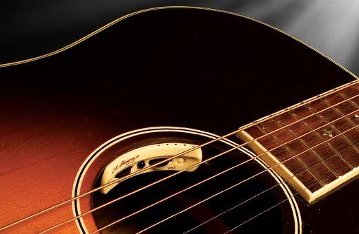 Anthem Acoustic Guitar Pickup Microphone Control In Soundhole Acoustic Guitar Pickups Guitar Pickups Guitar