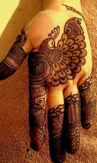 As A Finalist In Our Annual Mehndi Contest This Super Talented