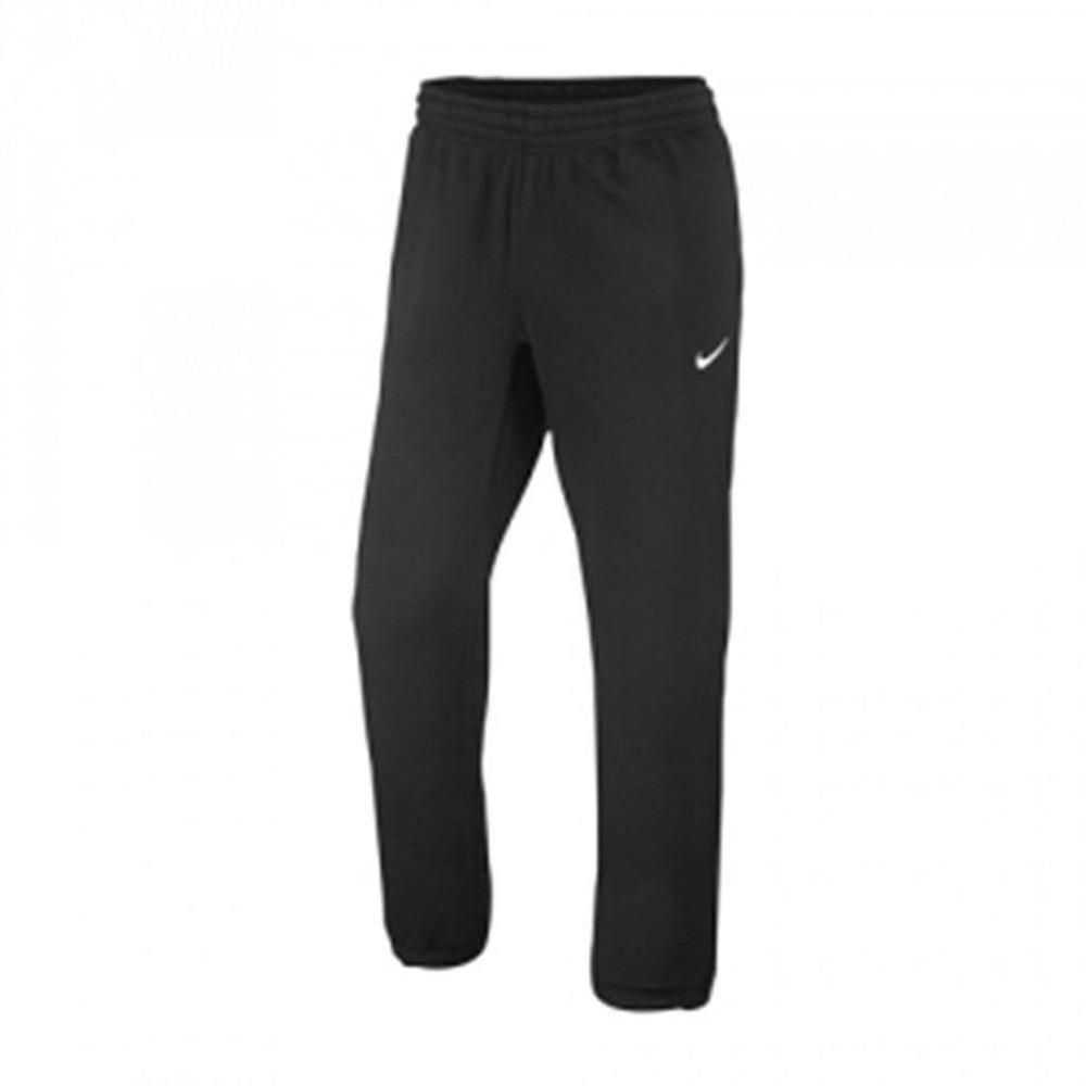 00fcb40f Nike Mens Club Sportswear Fleece Cuffed Black Sweatpants 2XL 826425 ...