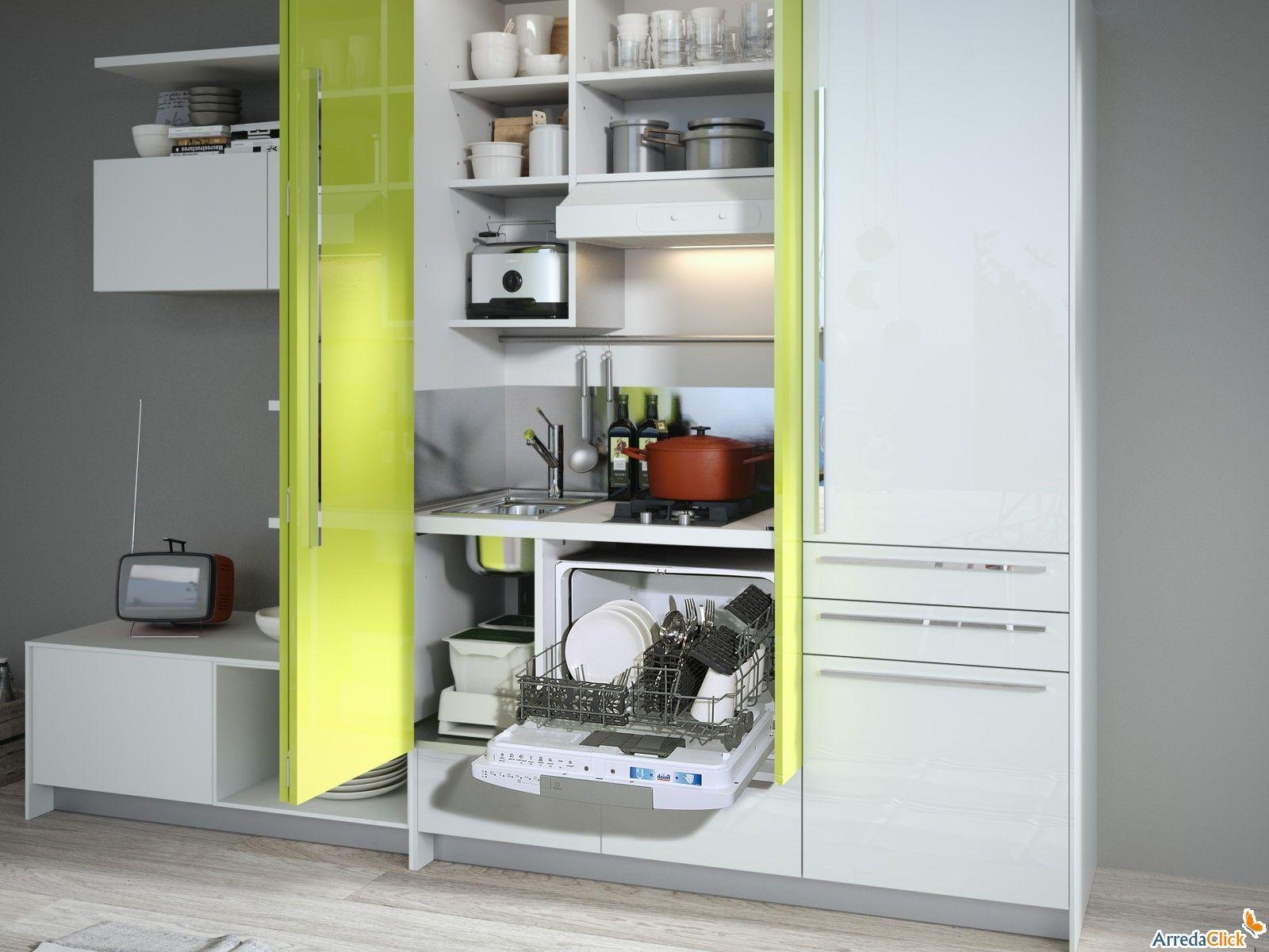 Mini Cucina Snaidero MiniSystem - finalmente una super compatta di ...