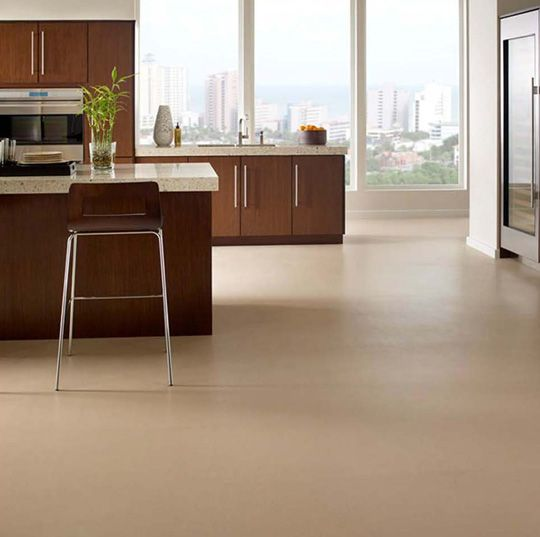 Types Of Kitchen Flooring Ideas: Recycled Cork + Rubber Flooring For The Bathroom