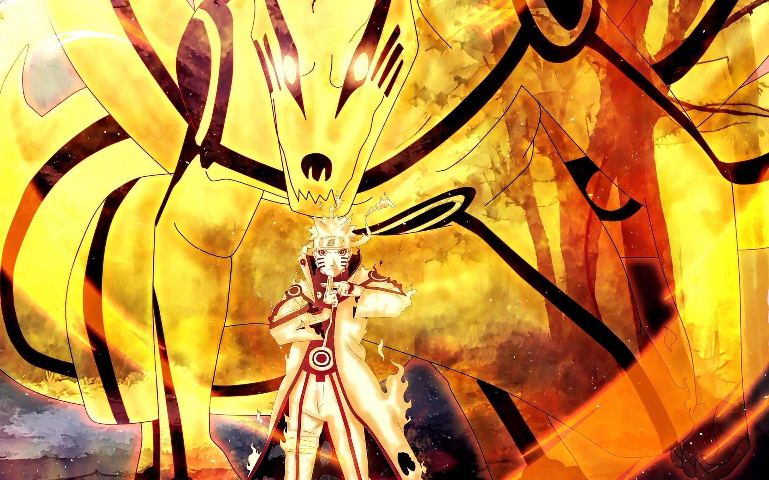 Naruto Illustration Naruto Shippuuden Uzumaki Naruto Kyuubi Kurama 2k Wallpaper Hdwall Naruto Wallpaper Best Naruto Wallpapers Naruto And Sasuke Wallpaper
