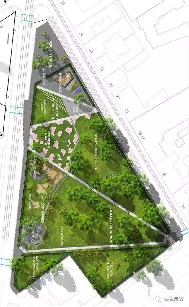 折 出来的风景线 Urban Landscape Design Landscape Architecture Design Landscape Design Plans