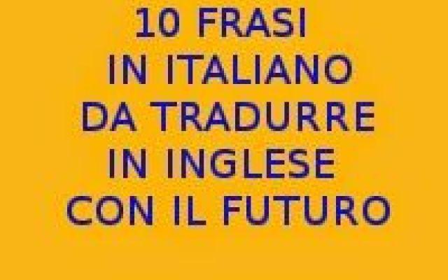 Prima Pagina Frasi In Italiano Inglese E Italia