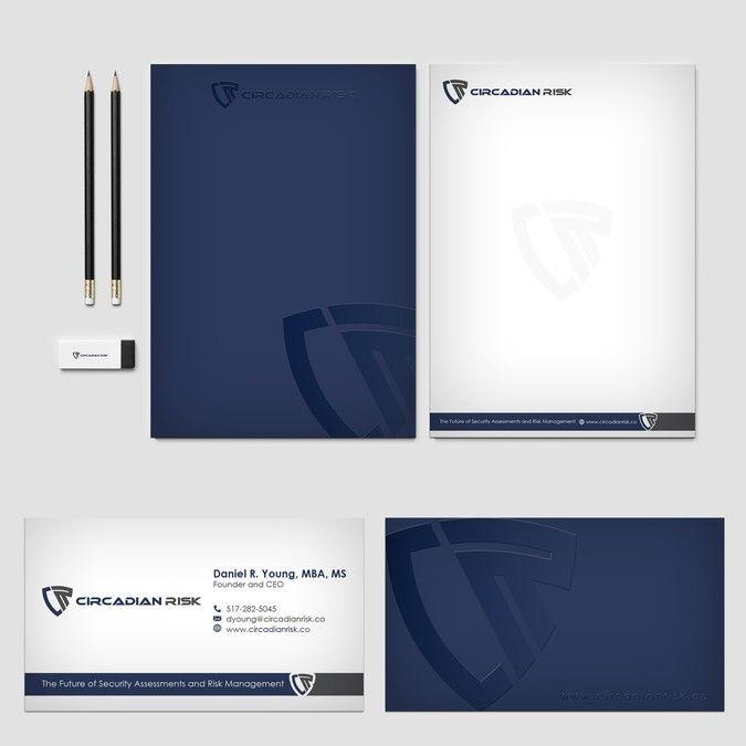 Winning design by Cortana10 business card Pinterest Business