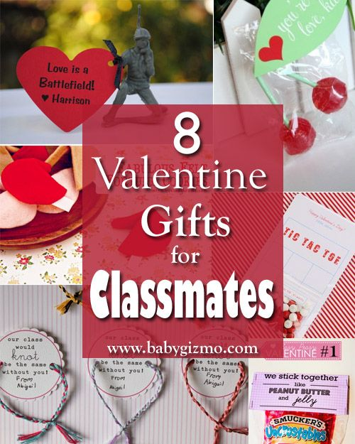 Schön 8 Valentine Gifts For Classmates Via @babygizmo #TypeAParent