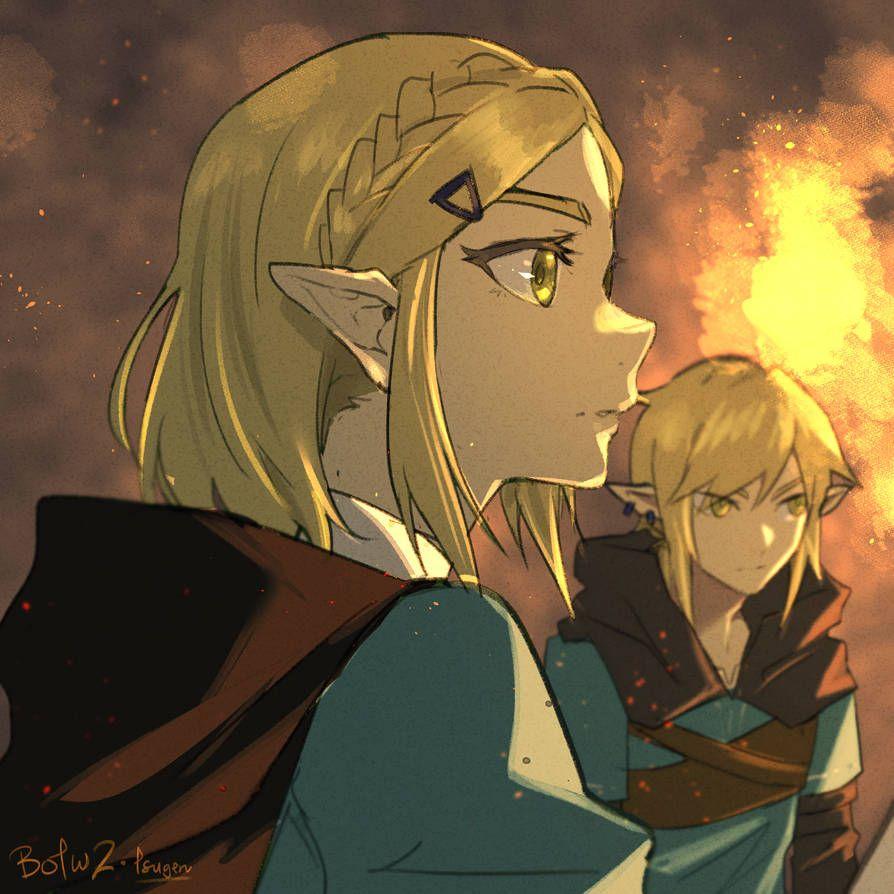 Legend Of Zelda Breath Of The Wild Sequel Art Princess Zelda And Link Botw 2 Legend Of Zelda Breath Legend Of Zelda Breath Of The Wild