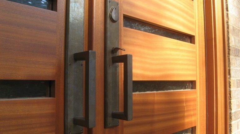 Double Glazed Door Handles With Images Exterior Hardware