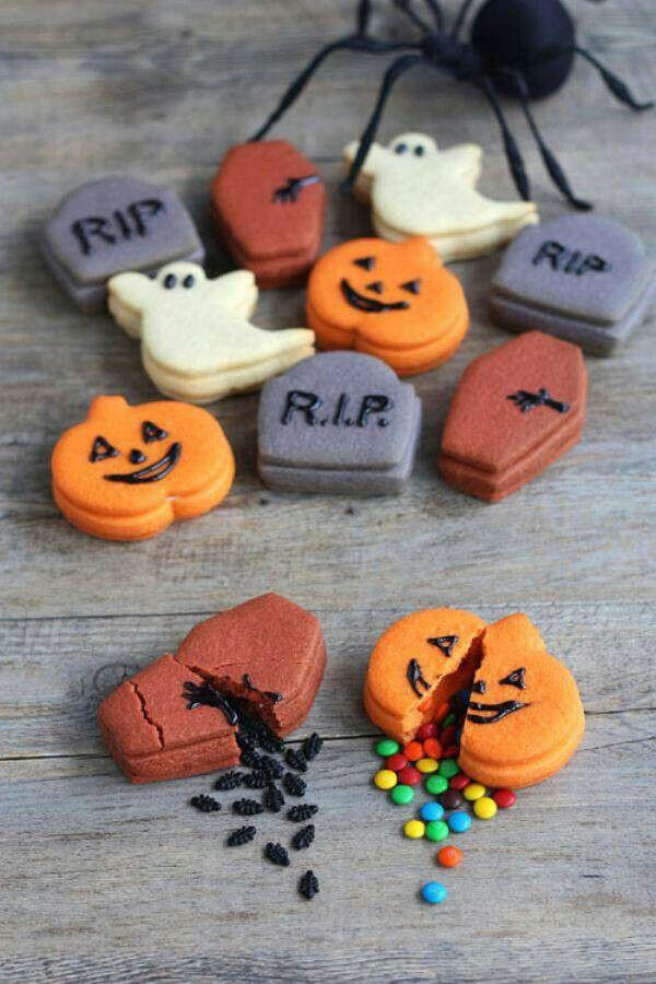 Halloween surprise cookies