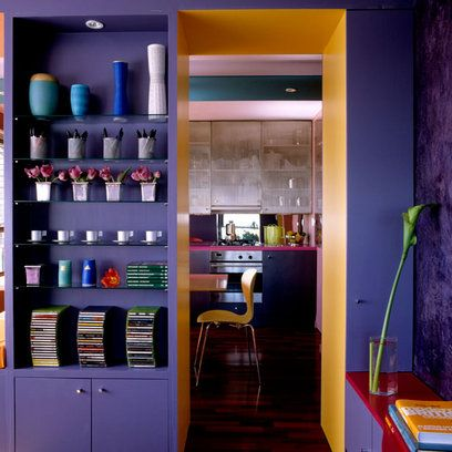 Love this, I once took an eggplant to the paint store for my dining room.
