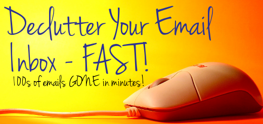 How to quickly and easily empty your email inbox! No more staring at an inbox with thousands of unread junk emails. Learn how to clear the clutter quickly and easily!