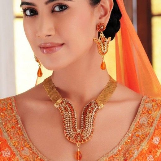 Latest Indian Gold Jewelry Designs Collection 2013 Smycken Guld