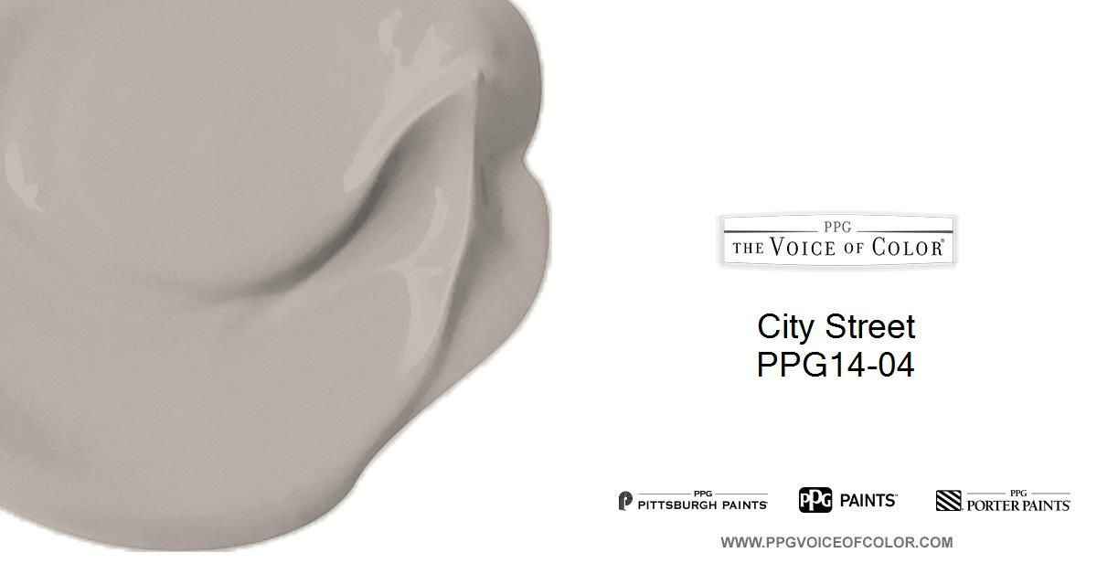 City Street is a part of the  collection by PPG Voice of Color®. Browse this paint color and additional collections for more paint color inspiration.