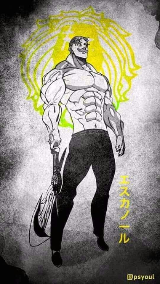 Escanor Nanatsu No Taizai Anime Siedem Grzechow Glownych E Tapety
