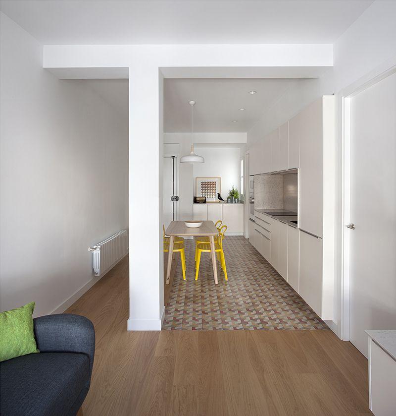 Reforma y diseño interior de apartamento en Ruzafa, Valencia ...