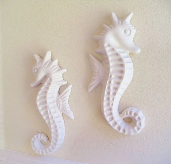 Large seahorse wall decor beachy decor from by RedwoodStoneworks & Large seahorse wall decor beachy decor from Grace and Frankie ...