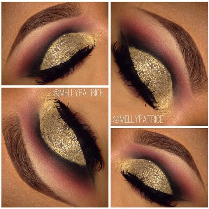 Sugar Cane for this pretty look.