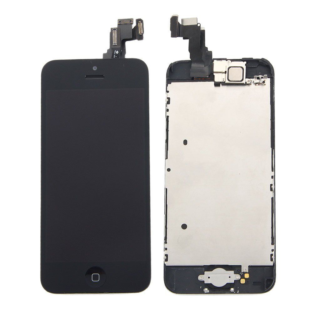 Lllccorp for iphone 5c lcd retina black touch screen
